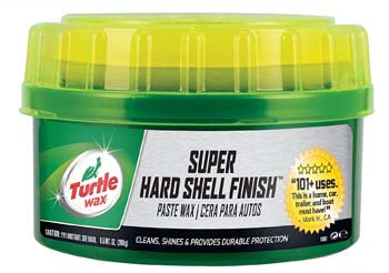 2. Turtle Wax T-223 Super Hard Shell Paste Wax