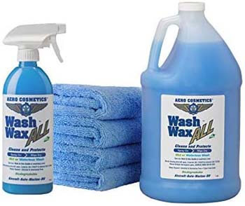 8. Wet or Waterless Car Wash Wax Kit 144 Ounces