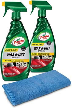 5. Turtle Wax 50834 1-Step Wax & Dry-26 oz
