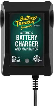 3. Battery Tender Junior Charger and Maintainer