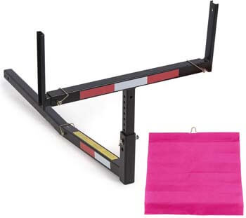 2. ECOTRIC Pick Up Truck Bed Hitch Extender Extension