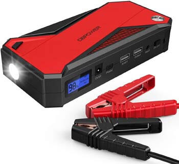 9. DBPOWER 800A 18000mAh Portable Car Jump Starter