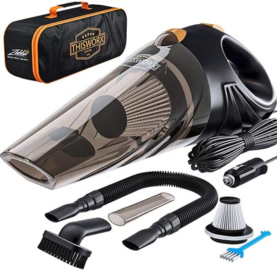 Portable Car Corded Handheld Vacuum cleaner.