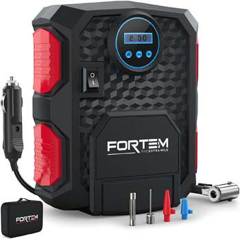 3. FORTEM Digital Tire Inflator for Car