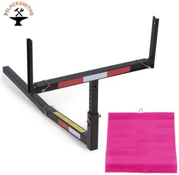 8. 7BLACKSMITH Adjustable Steel Pick Up Truck Bed Hitch Extender
