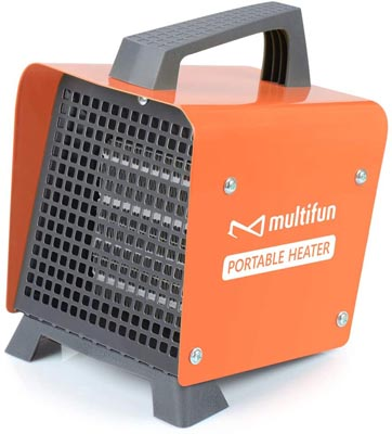 Electric Heater, Portable Ceramic Space Heater