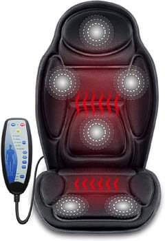 6. SNAILAX Massage Car Seat Cushion