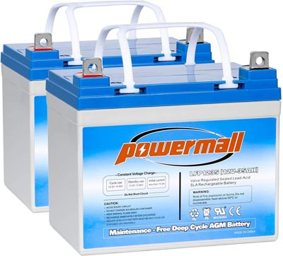 Weize 12V 35AH Rechargeable Battery