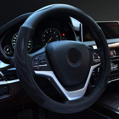 Alusbell Steering Wheel Cover