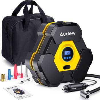 5. Audew Portable Air Compressor Tire Inflator