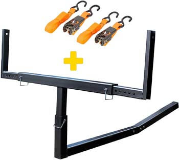 4. Mockins Heavy Duty Steel Pick Up Truck Bed Extender