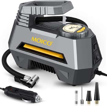 10. MOICO Air Compressor Tire Inflator