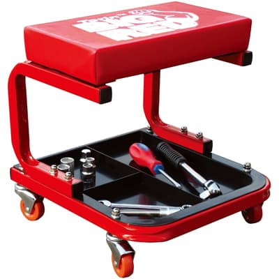 Big Red Torin TR6300 Red Rolling Creeper Garage Best Mechanic Creeper