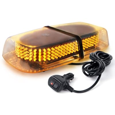 Xprite Amber/Yellow LED Emergency Strobe Lights