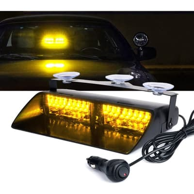 Xprite 16 LED Emergency Hazard Warning Strobe Light