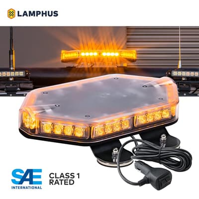 NanoFlare NFMB40 AMBER LED Strobe Mini Light Bar