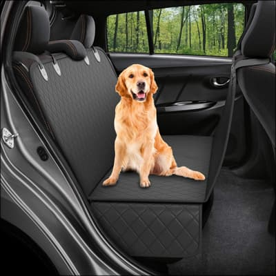 Active Pets Dog Back Seat Cover Protector