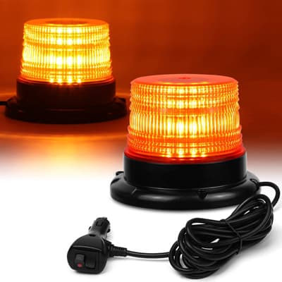 LINKITOM LED Strobe Warning Safety Flashing Beacon Lights